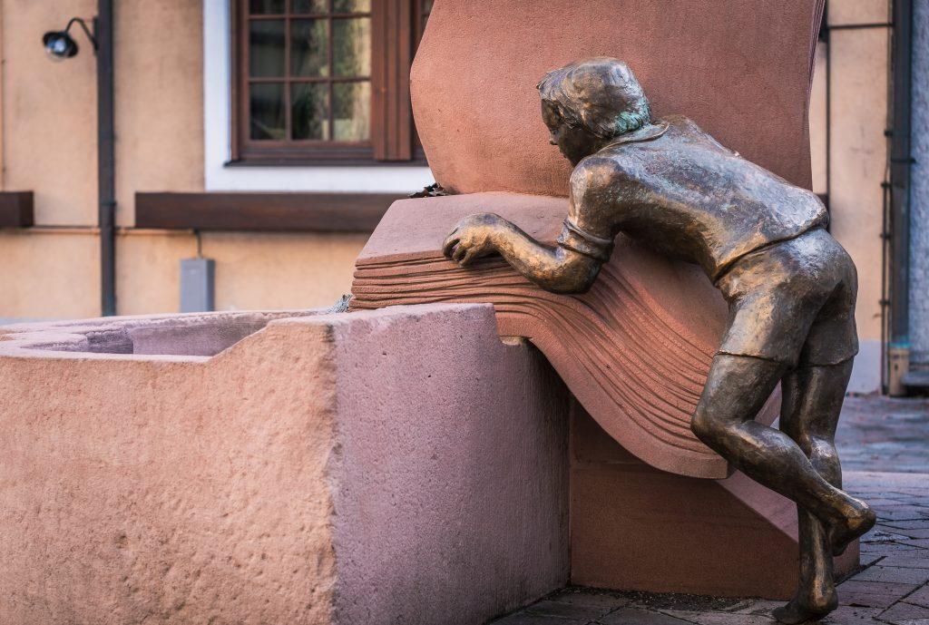 Lesender Mensch